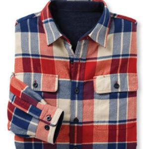 Regatta Red, Blue and White Check Shirt