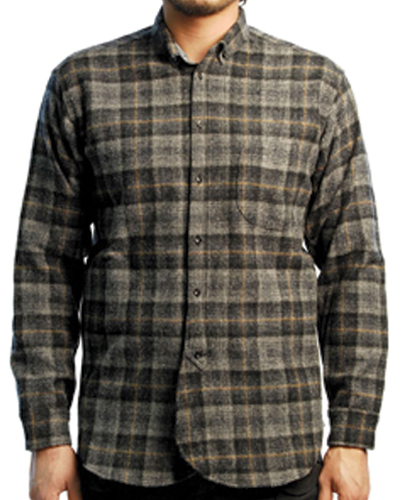 Regular Stylish Wool flannel Shirt suppliers