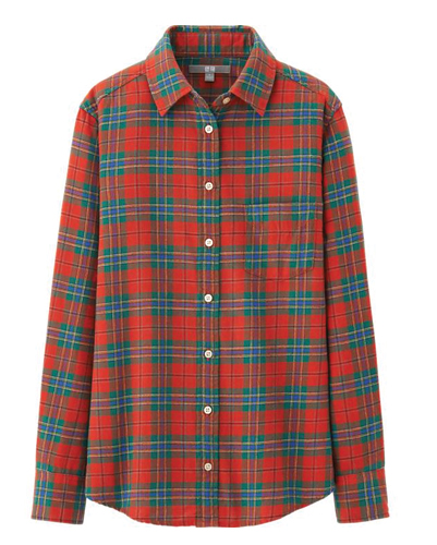 Rendering Red Flannel Shirt