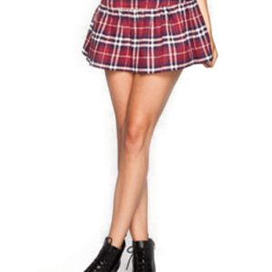 Robust Designer Check Flannel Skirt