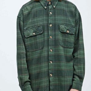 Rumps ten Vintage Flannel Shirt