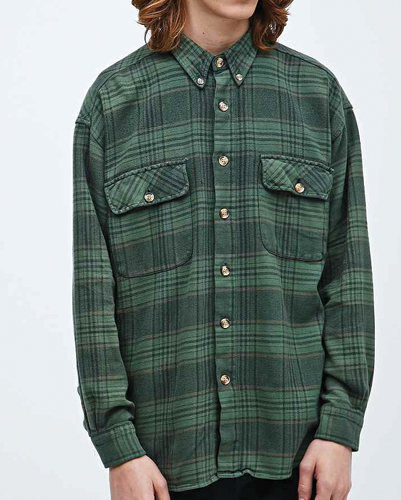 Rumps ten Vintage Flannel Shirt