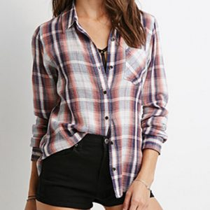 Rustic Girl's Cool Flannel Shirt