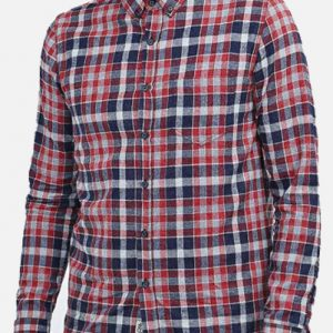 Rusty Black Checked Shirt