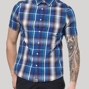 Senor Blue Cool flannel Shirt