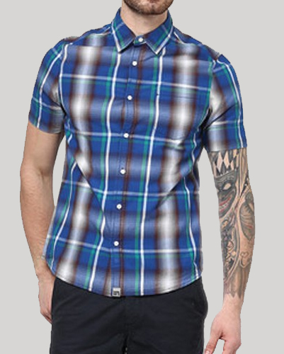 Senor Blue Cool flannel Shirt
