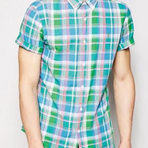 Sheen Green Cool Flannel Shirt