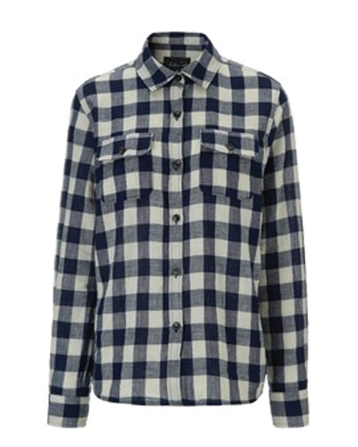 Simple Black & Bold Checked Flannel Shirt