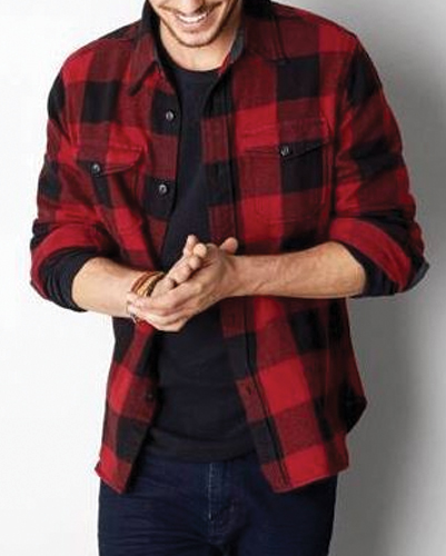 Skippy Cool Red Flannel Shirt