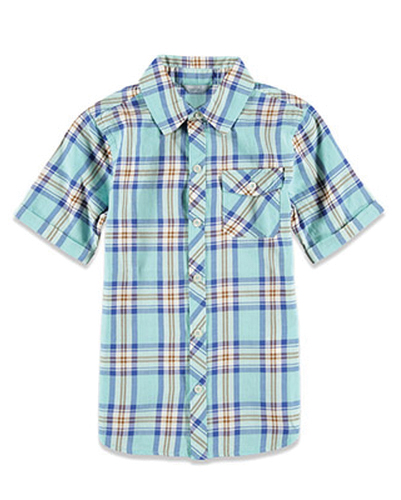 Sky Blown Flannel Check Shirt