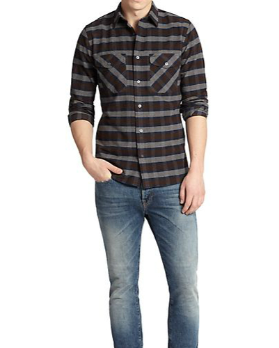 Slick and Suave Flannel Shirt