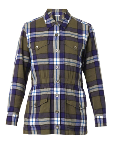 Snug Flannel Coat