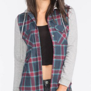 Soft Punch Long Sleeve Flannel Shirt