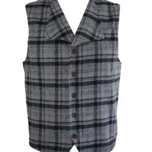 Somber Grey Waistcoat