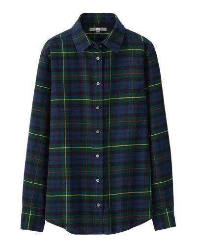 Spinning Twilight Flannel Shirt