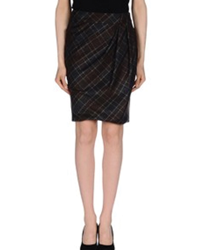 Stanch Black Pencil Skirt