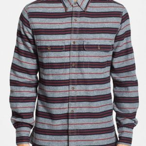 Striped Styled Cool Flannel Shirt