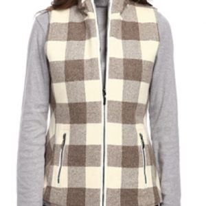 Structured Beige Flannel Jacket