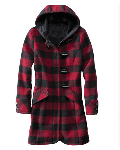 Sturdy Long Flannel Coat Manufacturer