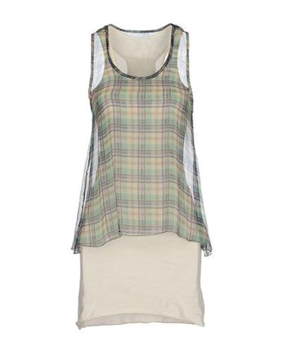 Summer Flannel Layer Dress
