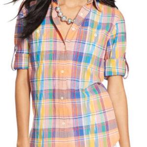 Sunny Madras Ladies Shirt