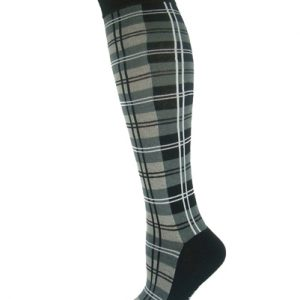 Swagger Grey, White and Black Check Socks