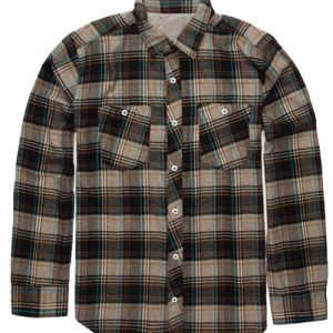 Tawny Teen Flannel Check