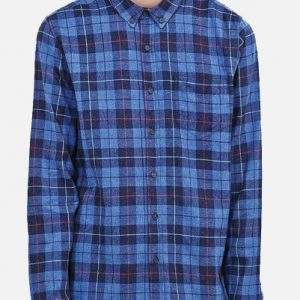 The Mystic Blue and Black Plaid