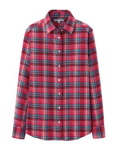 Timmy Touch Check Flannel Shirt