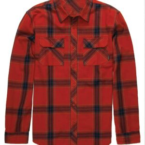 Toms Tom Red Flannel Check Shirt