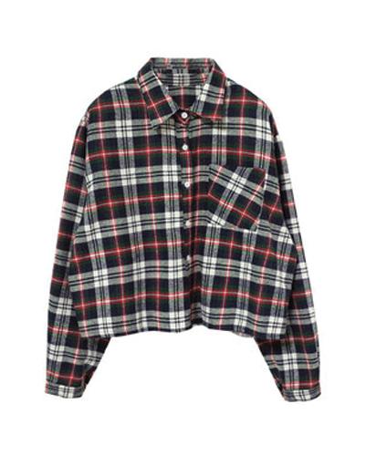 Tweaked Denim Girl's Flannel Shirts