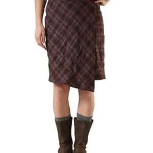 Vintage Cram Check Flannel Skirt