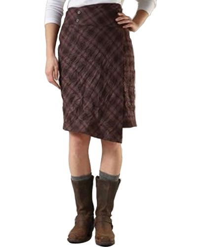 Vintage Cram Check Flannel Skirt