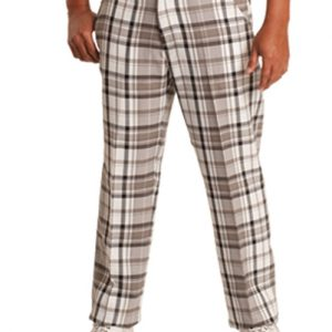 White Men's Relaxed Pants