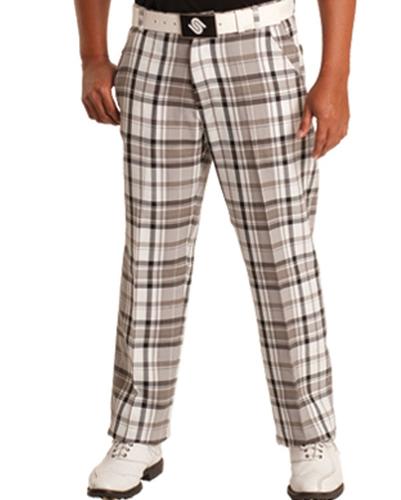 White Men's Relaxed Pants
