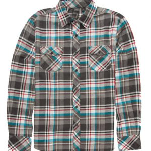 White Multi Flannel Shirt