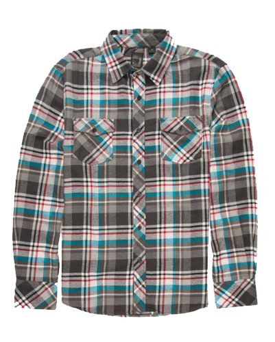 White Multi Flannel Shirt