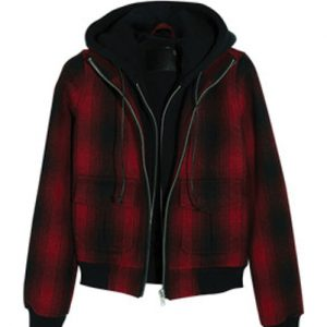 Women's Stylish Flannel Sweatshirt