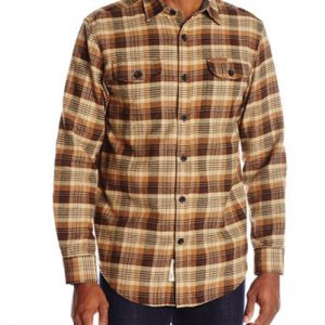 Wood Stain Field and Stream Flannel Shirts