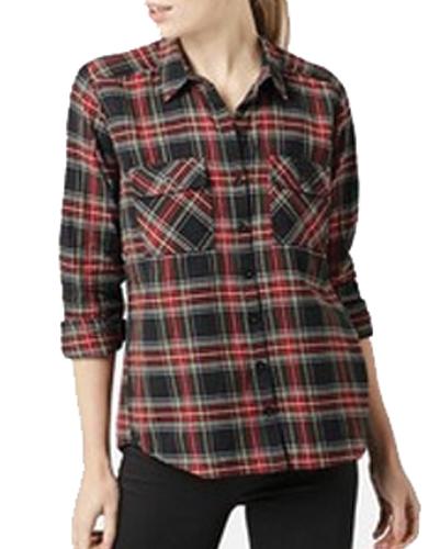 Wool Blouse flannel Shirt in Bulk
