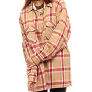 Yellow and Red Wool flannel Shirt Suppliers