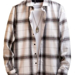 custom long sleeve oversized vintage flannel shirts for men manufacturers