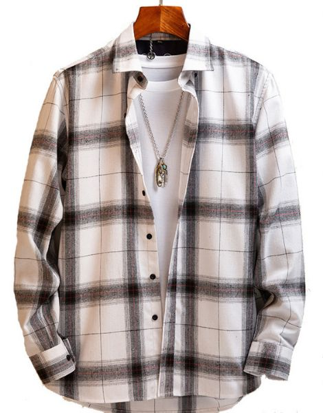 custom long sleeve oversized vintage flannel shirts for men manufacturers