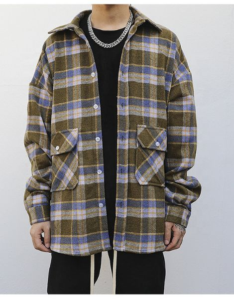 wholesale oversized flannel shirt manufacturers