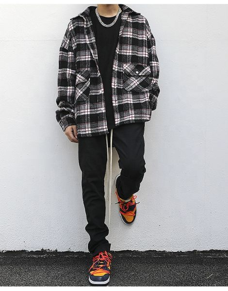 wholesale oversized flannel shirt