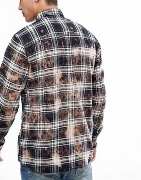 wholesale bulk vintage oversized flannel shirts