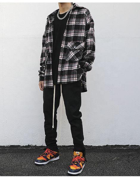 bulk oversized flannel shirt