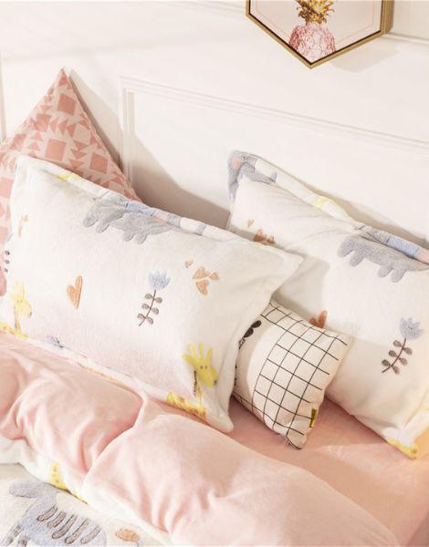 custom cotton cartoon printed bedsheets