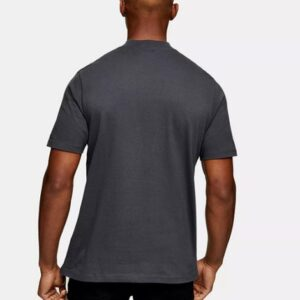 bulk turtle neck cotton oversized men t-shirt