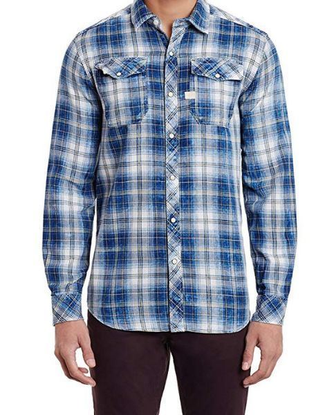 wholesale cotton long sleeve plaid mens flannel shirt